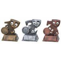 Pokale Platz 1, 2 und 3 / Gold Silber ..