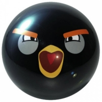 Angry Birds Black Ebonite Bowlingball ..