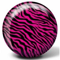 VIZ-A-Ball Pink Zebra Bowlingball Bowl..