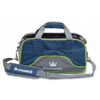 Crown Deluxe Double Tote Navy/Lime Bal..