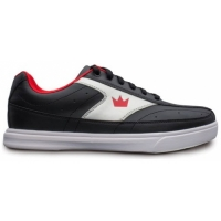 Brunswick Mens Renegade Black/Red Bowl..