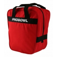 PROBOWL Single Bag Basic Rot  Bowlingt..