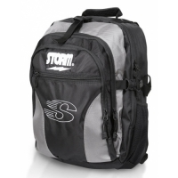 Storm Deluxe Back Pack Black/Silver