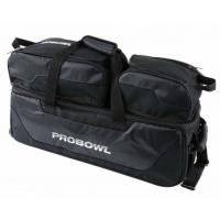 Pro Bowl Triple Tote W/ Shoe Bag Black..