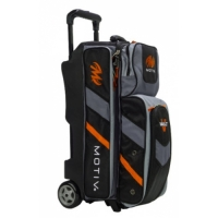 Motiv Vault™ 3-Ball Roller Black Orange