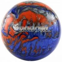 ProBowl Blau/Orange/Silber Bowlingball..