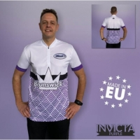 Invicta Purple Brunswick Bowling Shirt