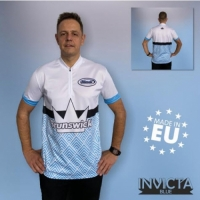 Invicta Blue Brunswick Bowling Shirt