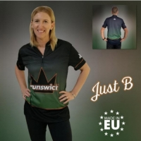Just B - Green Brunswick Bowling Shirt