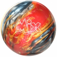 Mix Red Silver Gold Storm Bowlingball