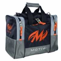 Shock 1-Ball Tote Black Orange Motiv B..