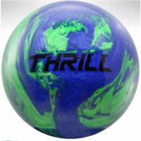 Top Thrill blue/green Motiv Bowlingball