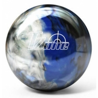 T- Zone Bowlingball Indigo Swirl